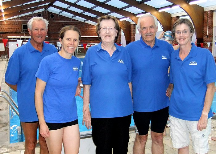 Well done to the Hythe Aqua Masters Team who swam so well at the recent Kent Champs