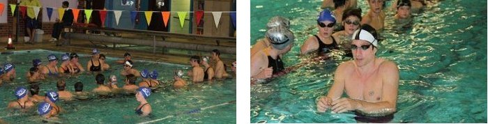 Chris Cook at Hythe Aqua Swimming Club