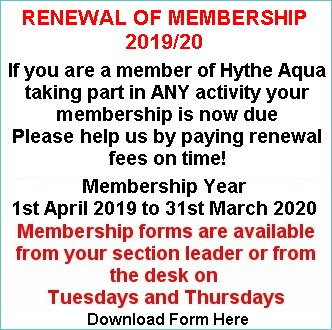 Club Membership Renewal