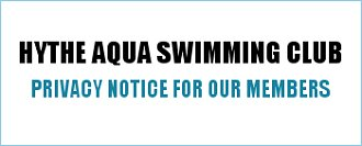 Hythe Aqua Privacy Notice For Members