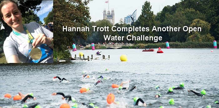 Hythe Master Hannah Trott Completes Another Open Water Challenge