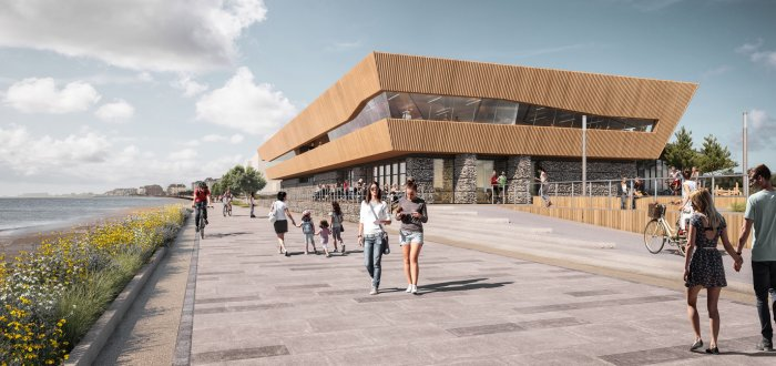 Proposed design of New Leisure Centre