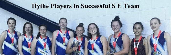 Hythe Players in Successful S E Team