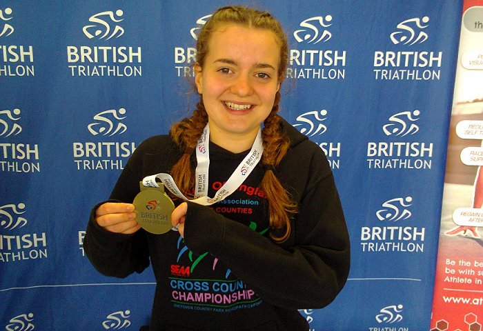 Last weekend Emily raced in the Age Group British Duathlon Championships