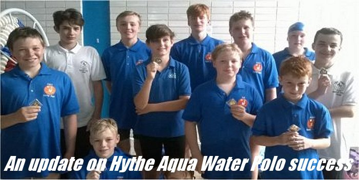 An update on Hythe Aqua Water Polo success