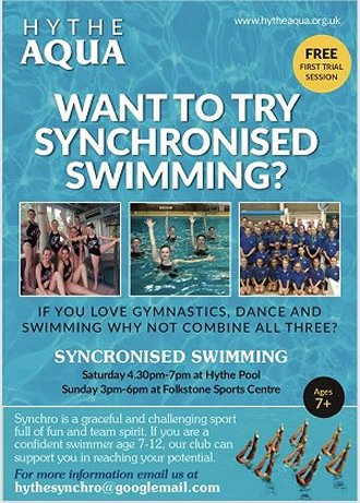 Synchronised Swimming Add