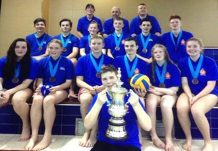 Hythe Aqua 16/U water polo team tonight have become London League Division 3 Champions