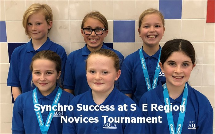 Synchro Success at S  E Region Novices Tournament