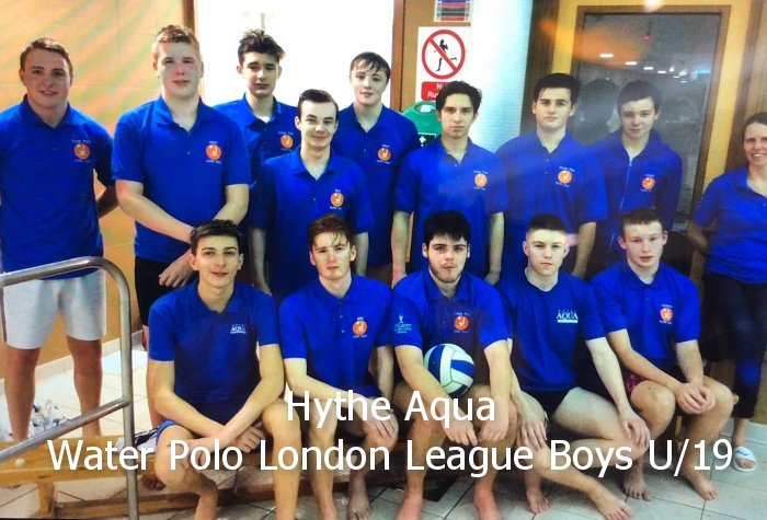 Hythe Aqua Water Polo London League Boys U/19