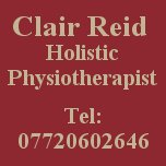 Clair Reid Holistic Physiotherapist