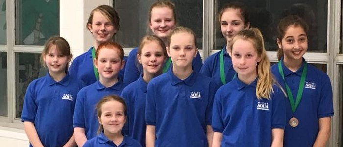 Hythe Aqua Synchro Success at S E Region Figure Competition
