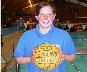 Hythe Aqua Player Grace Walker Joins  England Talent Squad
