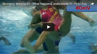 Women's Waterpolo - What happens underwater !!!