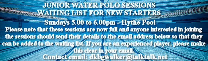 Junior Water Polo Sessions