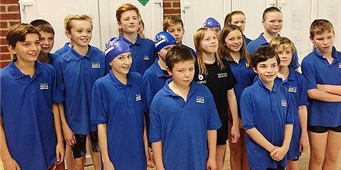 Hythe Aqua Junior Water Polo Players Aim High